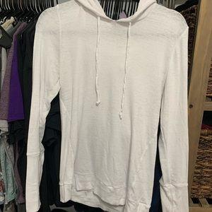Chaser white sweatshirt